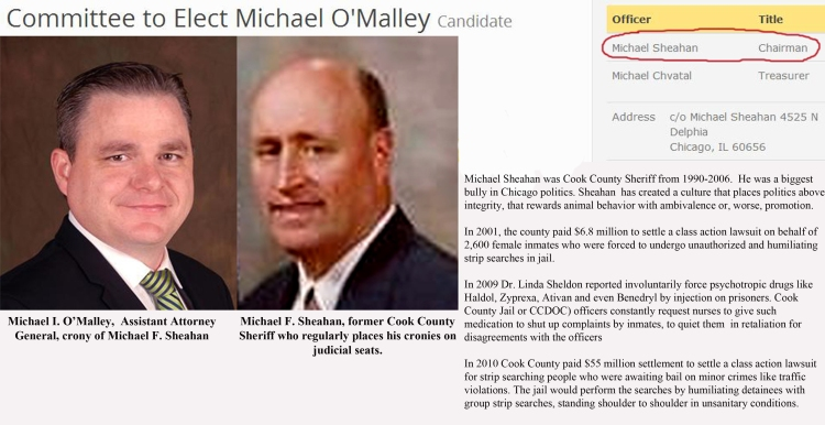Lawyer Michael I  O'Malley- corrupt bully-impersonator who